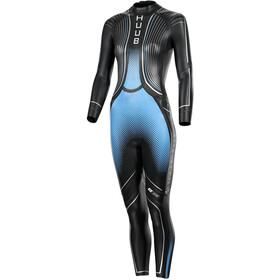 HUUB Agilis Brownlee 3.3 Traje Triatlón Mujer, negro/azul